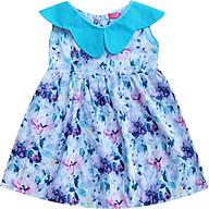 Đầm hoa tím cổ hoa xanh T122007 thumbnail