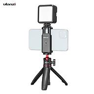 Ulanzi Phone Video Vlog Kit with Selfie Stick Tripod LED Fill Light Phone Clamp Holder Universal 1 4 Cold Shoe Mounting thumbnail