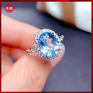 Nhẫn bạc nữ nạm đá zircon cao cấp - Trang sức Bé Heo BHN122 thumbnail