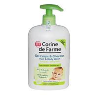 Gel Tắm Gội Cho Bé Corine de Farme Hair & Body Wash 500ml thumbnail