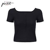 Áo T-Shirt nữ cổ vuông Monde Point MPWA08103101 thumbnail