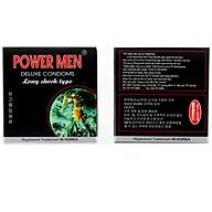 2 Hộp Bcs kéo dài thời gian quan hệ Power Men - Hàng Chính Hãng 100% - Che Tên Sản Phẩm thumbnail