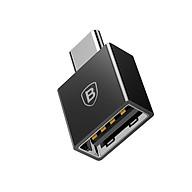 Đầu chuyển OTG USB Type C sang USB Full size Baseus LV106 (CATJQ-B01)- Hàng chính hãng. thumbnail