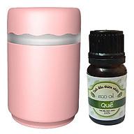 Combo Máy khuếch tán tinh dầu và làm ẩm không khí MKT05 kèm 1 chai tinh dầu quế eco oil 10ml (Giao màu ngẫu nhiên) thumbnail