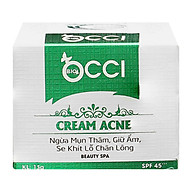 Kem Giảm Mụn, Mờ Thâm Sẹo BIO - OCCI Acen Cream thumbnail