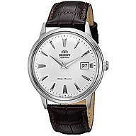 Orient 2nd Gen Bambino Version I Japanese Automatic Stainless Steel and Leather Dress Watch thumbnail