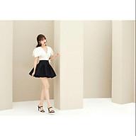 chân váy đen xòe thumbnail