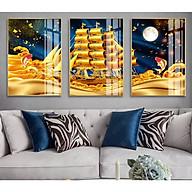 Bộ 3 tranh treo tường trang trí phòng khách,phòng ăn, phòng ngủ PVP-HD4473 thumbnail