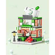 Bộ lắp ráp mini mô hình cửa hàng tiện lợi dễ thương thumbnail