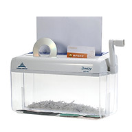 Máy hủy tài liệu mini 3 trong 1 dùng cho tài liệu kích thước A4 thẻ đĩa CD thumbnail