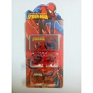 bộ 4 mẫu in hình người nhện cho bé thumbnail