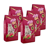 ( Combo 5 Gói ) Thức Ăn Cho Mèo Tất Cả Các Giống Vị Cá Ngừ - Hello Cat Tuna 2KG ( 400g x 5Gói ) thumbnail