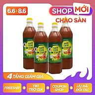 Bộ 4 Mật ong Thô Honeyboy 1000ml thumbnail