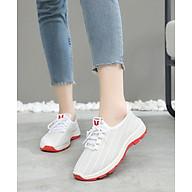 Giày sneaker nữ thoáng khí êm chân V197 thumbnail