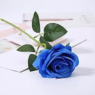 Hoa hồng giả bông to Krishna trang trí nhà cửa, bàn làm việc, bàn ăn, nhà hàng, quán cafe, ... thumbnail