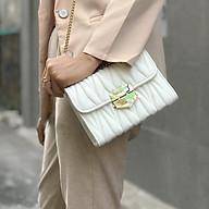 Túi xách nữ thời trang chất liệu da cao cấp chống nước, dây xích bền bỉ thumbnail