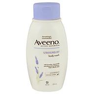 Aveeno Active Naturals Stress Relief Body Wash Lavender, Chamomile and Ylang-Ylang Essences 354mL thumbnail