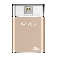 Ổ Cứng Di Động Mili IDATA 32GB USB 3.0 (Vàng) - Hàng Chính Hãng thumbnail