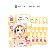Mặt Nạ Ủ Tóc Cung Cấp Protein Giữ Tóc Mềm Mượt The Saem Secret Pure Steam Hair Mask 15g+5g thumbnail