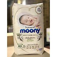 Gói bỉm bông moony natural sz newborn thumbnail