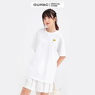 Áo thun nữ in hình cô gái GUMAC ATB683 thumbnail