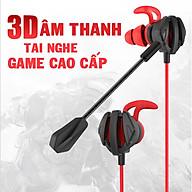 Tai Nghe Gaming Có Mic Rời Loa Siêu Trầm 3D G6 PRO GAMER Dành Cho Game Thủ Chơi Game Điện Thoại, Máy Tính - Hàng nhập khẩu thumbnail