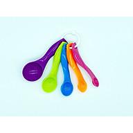 Bộ 5 muỗng đo gram, ml bằng nhựa tốt an toàn GD018 thumbnail