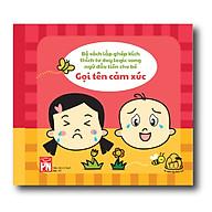 Sách vải song ngữ Anh - Việt - Mix & match - Gọi tên cảm xúc ( Từ 1-3 tuổi) thumbnail