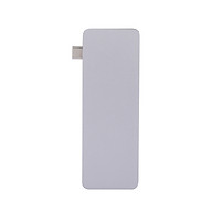 6IN1 Multi-port Type-C HUB to USB 3.0 Type-C 4K HD Converter Adapter SD TF Card Reader Plug & Play thumbnail