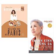 Combo Sách Làm Thay Đổi Phái Đẹp [Madame Chic] Rất Thần Thái, Rất Paris (Khí Chất Đắt Giá Bất Truyền Của Quý Cô Sành Điệu) + Thánh Kinh Dưỡng Da Tặng Kèm Bookmark Happy Life thumbnail
