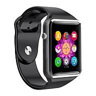 Đồng hồ thông minh A1 tặng thẻ nhớ 16GB (Đen) thumbnail