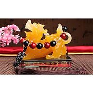 Tượng nước hoa Kỳ Lân phong thủy ngọc đa sắc WD1659 thumbnail