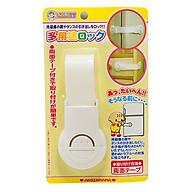 Khóa ngăn kéo, tủ lạnh bảo vệ trẻ em nội địa Nhật Bản thumbnail