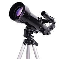 Kính thiên văn khám phá thiên văn học di động có giá đỡ, gương đảo ảnh, thị kính góc rộng ( TẶNG ĐÈN PIN BÓP TAY SIÊU SÁNG THÂN THIỆN VỚI MÔI TRƯỜNG NGẪU NHIÊN ) thumbnail