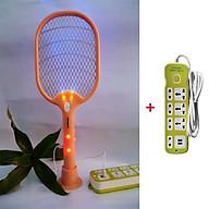 Combo vợt muỗi 3 trong 1 thế hệ mới và ổ cắm điện USB đa năng Nakagami chất lượng công nghệ Nhật Bản - Màu ngẫu nhiên thumbnail