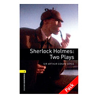 Oxford Bookworms Library (3 Ed.) 1 Sherlock Holmes Two Plays Audio CD Pack thumbnail