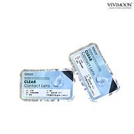 Bộ sản phẩm kính áp tròng cận trong suốt kèm phụ kiện ngâm nhỏ VIVIMOON thumbnail