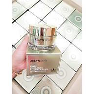 Kem dưỡng chống lão hóa, trắng da, giảm nám vàng gold collagen Zelyn tặng 3 mặt nạ Jant Blanc thumbnail