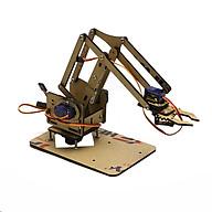 Full Bộ Cánh Tay Robot Arduino Uno Mica ( Kèm 04 Động Cơ Servo SG90, 01 Arduino Nano CH340, 01 Shield Mở Rộng Arduino NaNo ) thumbnail