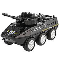 Xe mô hình đồ chơi xe cảnh sát bọc thép DLX chất liệu nhựa an toàn, chi tiết sắc sảo (hàng nhập khẩu) thumbnail