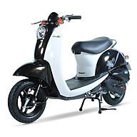 Xe ga 50cc Scoopy màu đen yếm trắng thumbnail