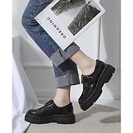 Giày Da Oxford Đế Độn 5cm Êm Chân Mery Shos- MBS216 thumbnail