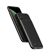 Ốp lưng siêu mỏng kiêm Pin sạc dự phòng 4000 mAh cho iPhone XS Max hiệu Usams Rechargeable Back Case (thiết kế siêu mỏng, bảo vệ toàn diện, trang bị chip sạc thông minh) - Hàng nhập khẩu thumbnail