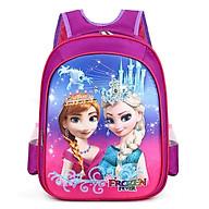 Balo Elsa in nổi 3D cho bé học lớp 1 2 3, cặp sách elsa anna cho bé đi chơi du lịch E108 thumbnail