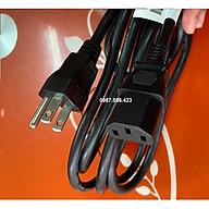 Dây nguồn 3 chân dẹp chuẩn U.S dài 2.5m tiết diện lõi đồng 0.824mm2 thumbnail