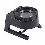 Kính lúp có thước đo có đèn Led trợ sáng soi mẫu vật độ phóng đại 15 lần (Tặng kèm miếng thép đa năng 11in1) thumbnail