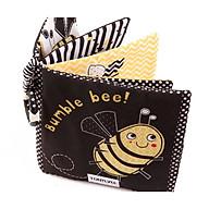 Đồ chơi - SÁCH VẢI SƠ SINH ĐEN TRẮNG BUMBLE BEE thumbnail