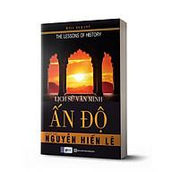 Sách - Lịch Sử Văn Minh Ấn Độ (Tặng kèm bookmark thiết kế ) thumbnail