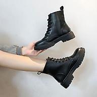 Boot nữ cổ ngắn đế 3 phân thumbnail