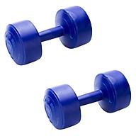 Bộ 2 Tạ Tập Tay Nhựa VN 5kg Sportslink - Xanh thumbnail